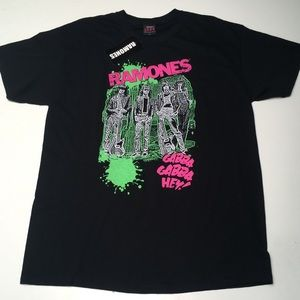 Ramones Gabba Gabba Hey Black Short Bravado UK